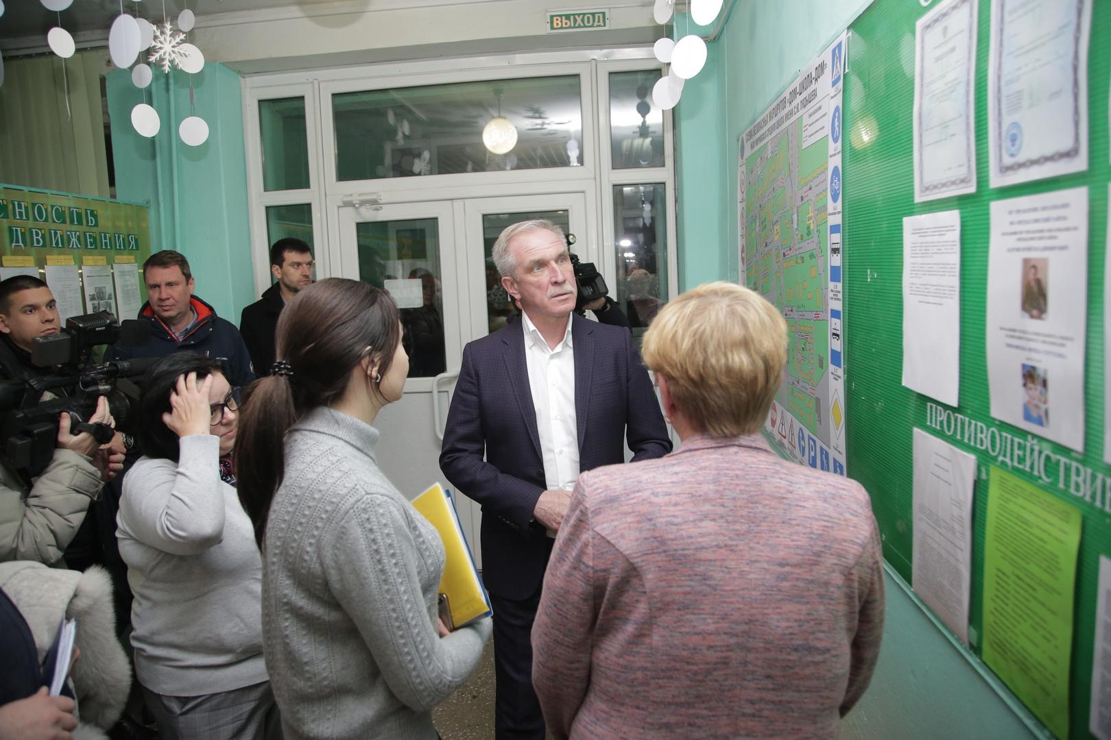 Обновление зданий образовательных учреждений проходит в Ульяновской области